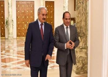 حفتر في زيارة سرية لمصر