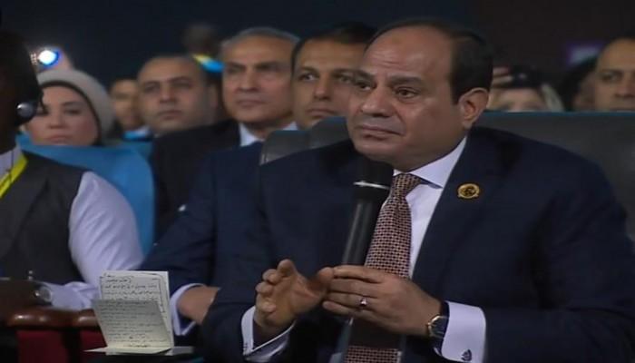 السيسي: حكومة الوفاق الليبية أسيرة للميليشيات المسلحة