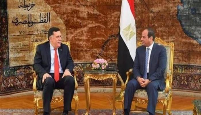 حكومة الوفاق للسيسي: نرفض أي تهديد يمس سيادة ليبيا