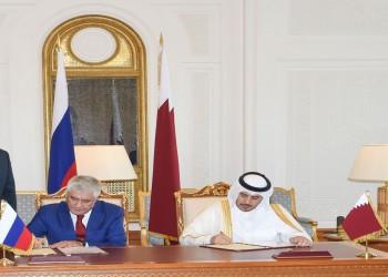 قطر وروسيا توقعان اتفاقا للتعاون الأمني