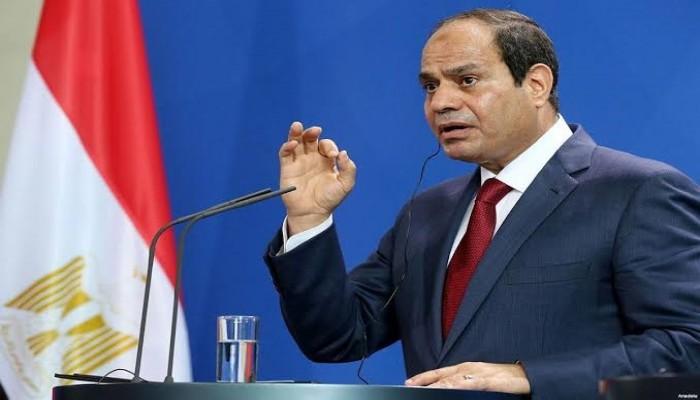 السيسي: لن نسمح لأحد بالسيطرة على ليبيا