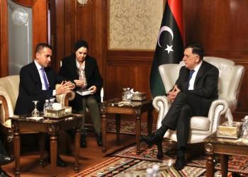وزير خارجية إيطاليا يلتقي السراج وحفتر في ليبيا