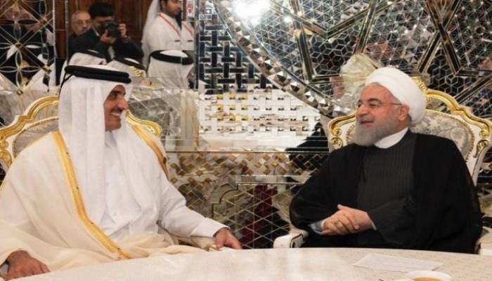 روحاني يهنئ تميم باليوم الوطني لقطر