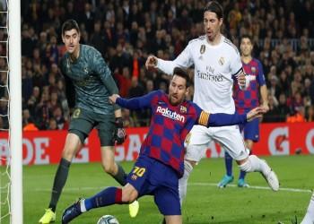 التعادل يحسم كلاسيكو الأرض بنقطة لكل من برشلونة وريال مدريد