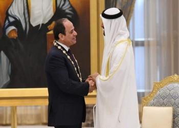 محمد بن زايد والسيسي يبحثان التطورات الإقليمية والدولية