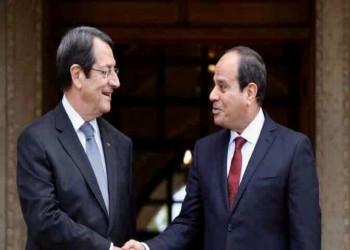 الرئيسان المصري والقبرصي يبحثان الأوضاع شرقي المتوسط