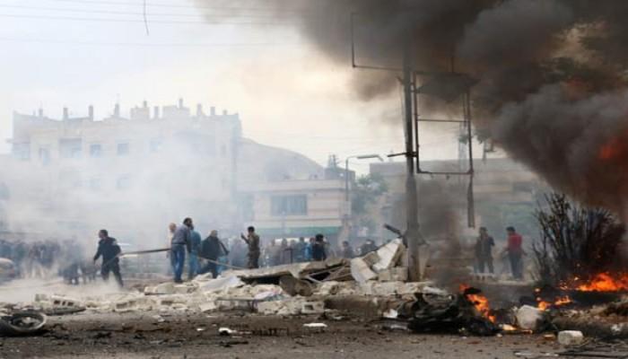 مقتل 6 جنود سوريين وإصابة 13 بتفجير انتحاري في ريف إدلب