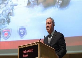 خلوصي أكار: الإرهابيون ما زالوا في مناطق نبع السلام