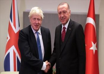 أردوغان يبحث مع جونسون الوضع في سوريا وليبيا