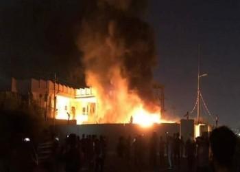حرق مقر فصيل شيعي مقرب من إيران جنوبي العراق
