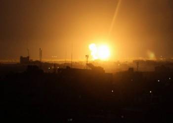 غارات إسرائيلية ليلية على غزة بعد ساعات من أحداث عسقلان