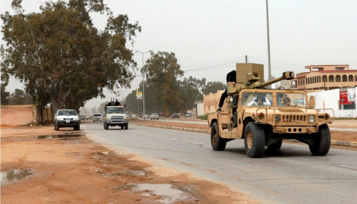 ليبيا.. قوات الوفاق تدمر 8 آليات لحفتر بينها مدرعتان إماراتيتان