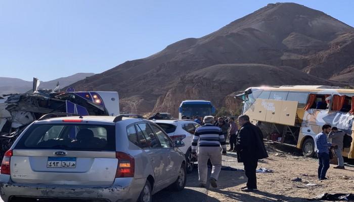 مصر.. مصرع 6 وإصابة 32 في حادث تصادم