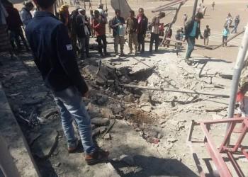 صاروخ حوثي يستهدف قوات الحزام الأمني في الضالع