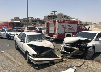 مصرع وإصابة 5 مصريين في حادث بالكويت