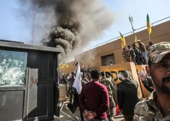 32 مصابا باقتحام السفارة الأمريكية في بغداد.. وترامب يحمل إيران المسؤولية