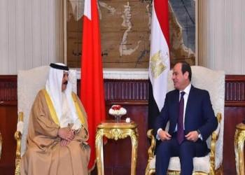 ملك البحرين والرئيس المصري يبحثان العلاقات الثنائية