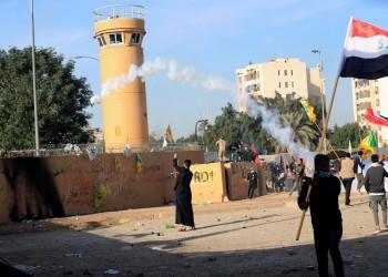العراق.. الحشد الشعبي يأمر أنصاره بالانسحاب من محيط السفارة الأمريكية