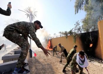 حزب الله العراقي يوضح سبب انسحابه من أمام السفارة الأمريكية