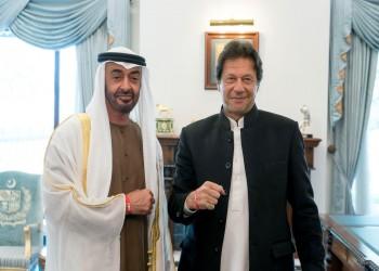 محمد بن زايد يلتقي عمران خان في زيارة خاطفة لباكستان