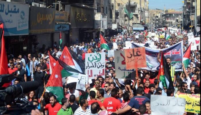 غاز الاحتلال تهديد للأمن القومي الأردني