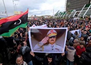 """حفتر يعلن """"النفير"""" ضد أي قوات تركية تصل إلى ليبيا"""