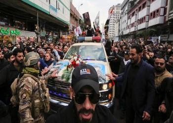 عبدالمهدي يتقدم آلاف العراقيين بجنازة سليماني والمهندس