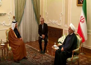 بعد مقتل سليماني.. روحاني يستقبل وزير الخارجية القطري