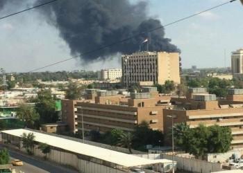لليوم الثاني.. سقوط صواريخ كاتيوشا قرب السفارة الأمريكية ببغداد