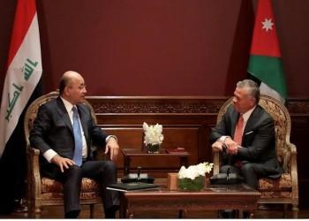 العاهل الأردني والرئيس العراقي يبحثان تداعيات مقتل سليماني