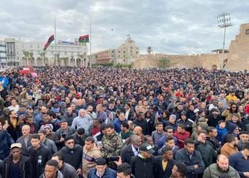 بالصور.. تشييع جثامين قتلى الكلية العسكرية بطرابلس الليبية