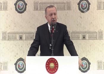 أردوغان: لن نقف مكتوفي الأيدي إزاء المتغيرات في منطقتنا