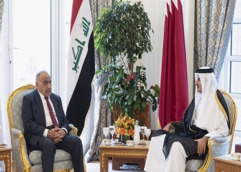 أمير قطر يبحث هاتفيا مع رئيس وزراء العراق جهود خفض التوتر