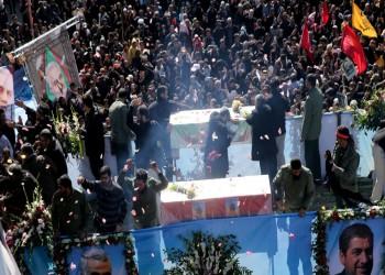 دفن جثمان سليماني بمسقط رأسه بعد القصف الانتقامي