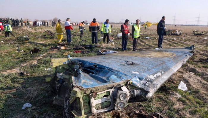 أمريكا تبحث حادث تحطم الطائرة الأوكرانية في إيران