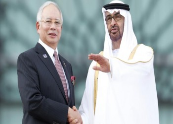 ماليزيا تذيع مكالمة مسجلة لاتفاق فساد بين عبدالرازق وبن زايد