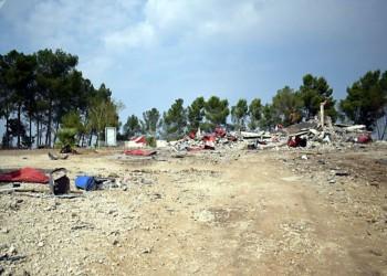 سقوط صاروخ قرب قاعدة أمريكية بصلاح الدين العراقية