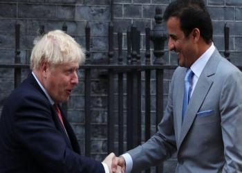 أمير قطر ورئيس وزراء بريطانيا يبحثان تطورات المنطقة