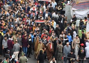 تظاهرات واسعة في العراق وهتافات ضد إيران وأمريكا