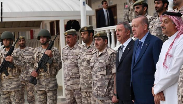 شقيق أمير قطر يثير جدلا لإشادته بالجيش التركي