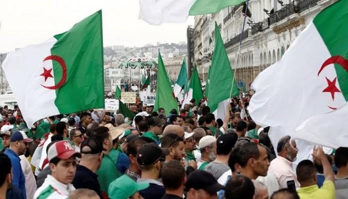مظاهرات الجزائر تستمر تحت المطر في الجمعة الـ47