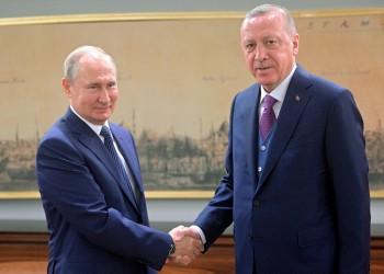 أردوغان وبوتين يبحثان هاتفيا الأوضاع في ليبيا