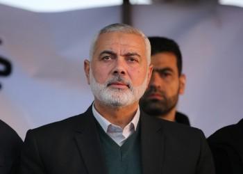 وفد من حماس برئاسة هنية يصل إلى عمان للتعزية في قابوس
