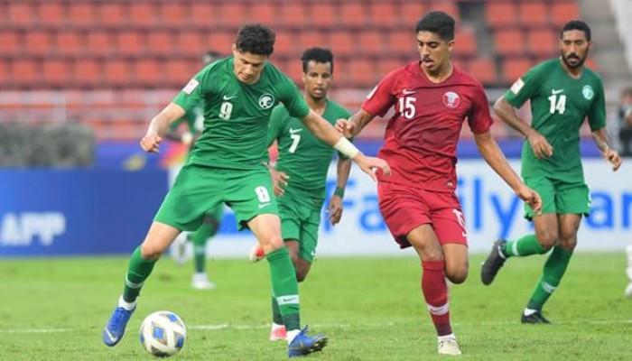 تعادل سلبي بين السعودية وقطر بكأس آسيا للشباب