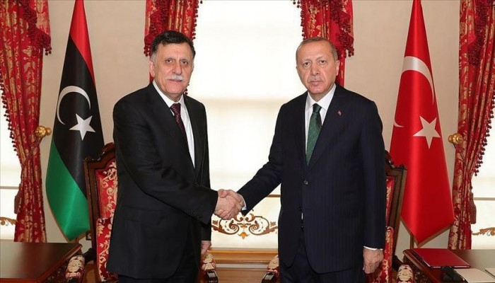 أردوغان والسراج يعقدان اجتماعا مغلقا بإسطنبول
