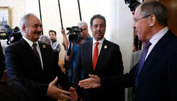 حفتر يغادر موسكو دون التوقيع على اتفاق وقف إطلاق النار