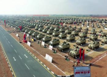 الجيش المصري ينفذ تدريبات قتالية على حدود ليبيا والسودان