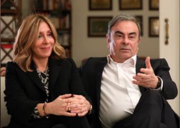 زوجة كارلوس غصن عن هروب زوجها: سعيدة لأنه فعل ذلك