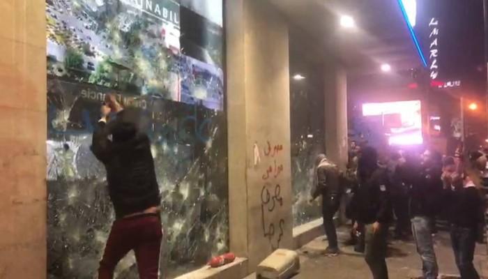 إصابة 47 من الأمن اللبناني وتوقيف 59 مشتبها بأعمال شغب ليلية
