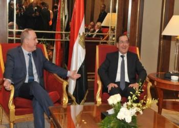 إعلام عبري ينشر صورة ضاحكة لوزيري الطاقة الإسرائيلي والمصري